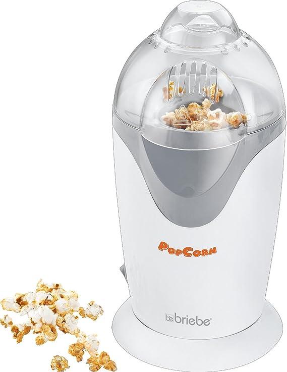 briebe Popcorn - Palomitero para Hacer Palomitas de maiz en 2 Minutos, 1200W: Amazon.es