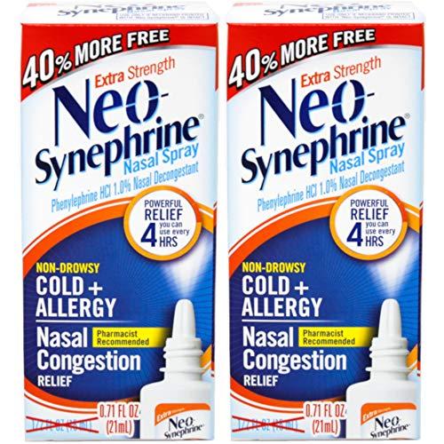 Neo-Synephrine Nasal Spray, Extra Strength Formula, 1/2-Ounc