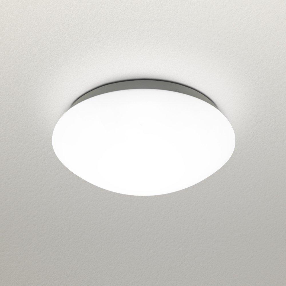 NATSEN 6000K White,12W LED Ceiling lights, Flush mount ceiling light,Modern ceiling light fixture,Living Room,Bedroom, Dining room,lights uniformly, High transmittance lampshade