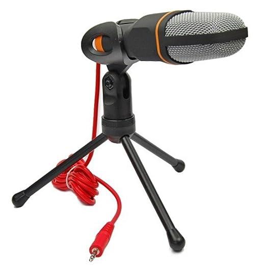 2 opinioni per Temo stereoscopico professionale a condensatore Audio Microfono con supporto per