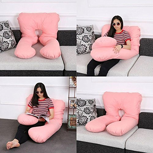 Detachable U Shaped Full Body Support Pillow Maternity Pregnancy Women Pillow