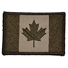 Canadian Flag Canada Maple Leaf 2x3 Military Patch / Morale Patch - Desert Tan
