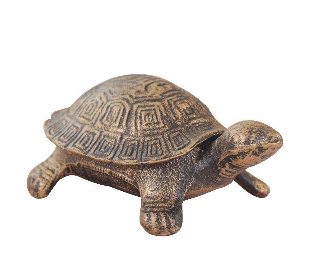 Home mall- Klassische Gusseisen Aschenbecher Schildkröte Kreative Nostalgische Persönlichkeit Aschenbecher Büro Hausdekorationen, tägliche Notwendigkeiten