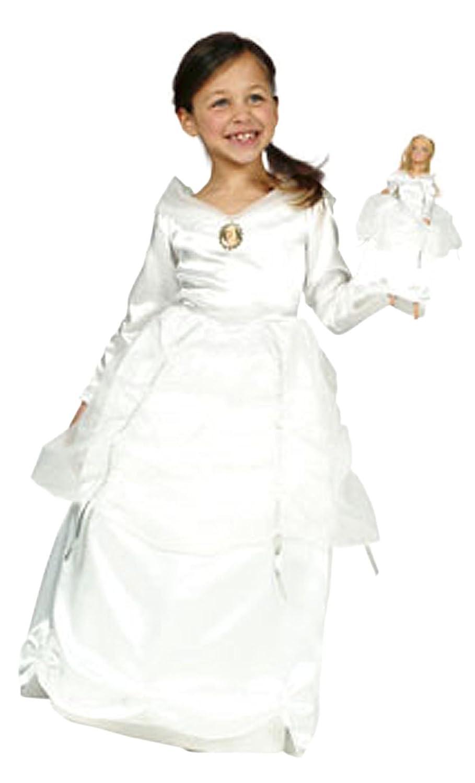 Cesar – Disfraz Barbie Blanca Princesa con Vestido para muñecas ...