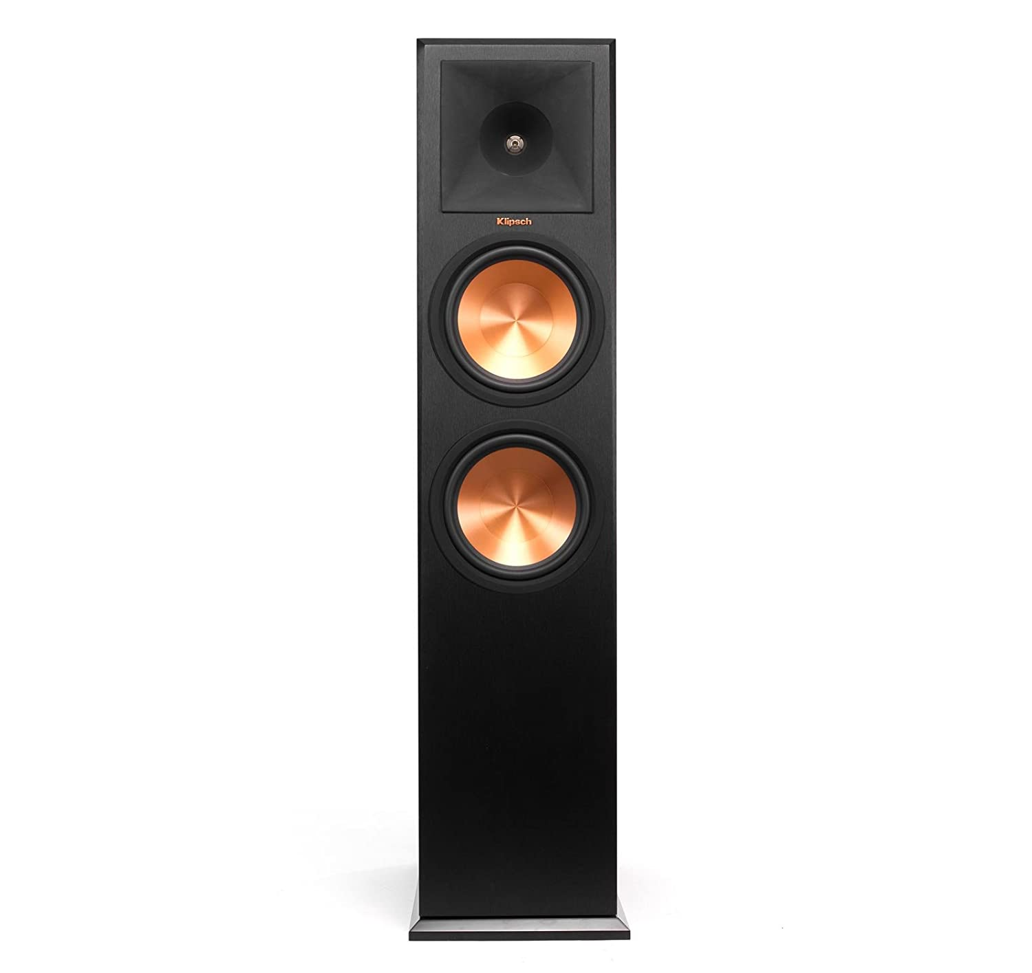 Amazon com klipsch rp 280f reference premiere floorstanding speaker with dual 8 inch cerametallic cone woofers cherry pair electronics