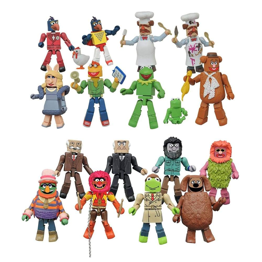 Toynk Muppets Minimates Series 2, Set of 2 Cases by Toynk