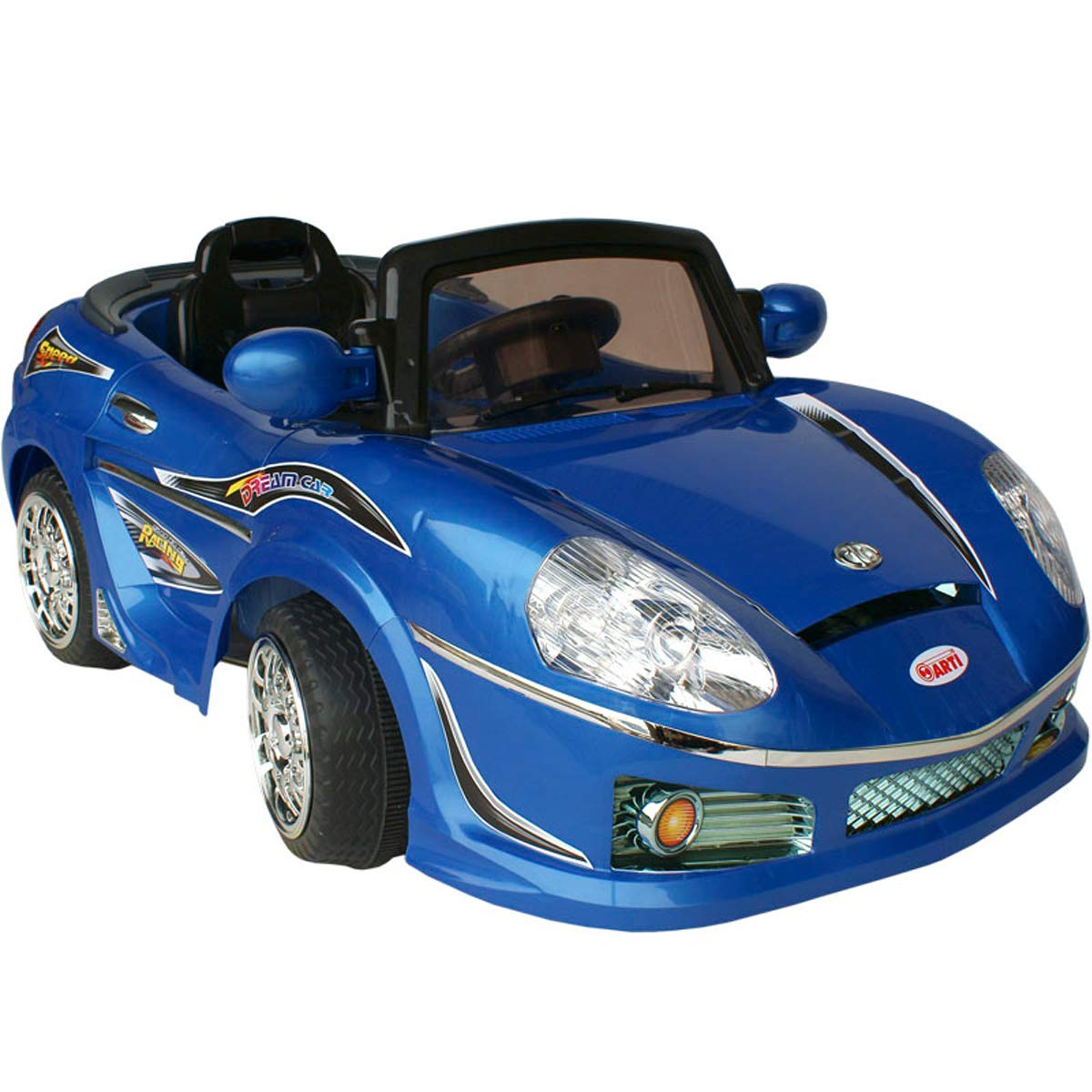 Scalesport 698R Roadster Elektrofahrzeug Sportwagen Spielzeugauto Elektrisches Kinderfahrzeug Kinder Spielzeug (Blau (698R/Blau))