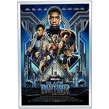 Amazon.com - SnapeZo Movie Poster Frame 27x40 Inches, Silver 1.25 ...