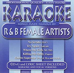 Various Artists - Karaoke: Songs Made Famous By R&B Female