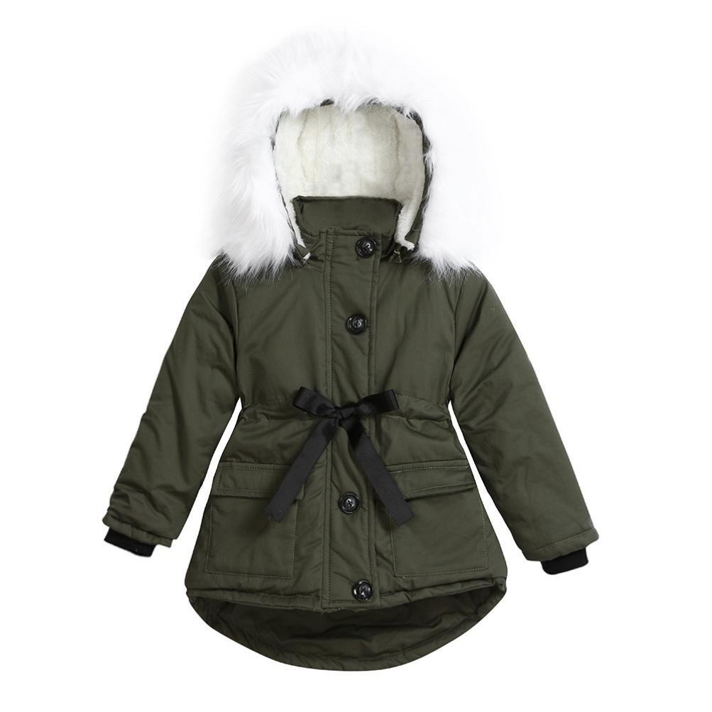 Chaqueta beb/é ni/ña 6 A/ños Amlaiworld Beb/é ni/ñas oto/ño invierno manto abrigo chaqueta Ropa de abrigo 24 Mes