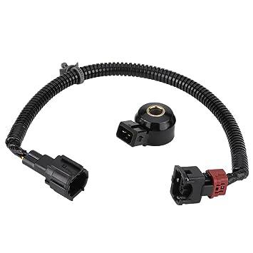 Qiilu Sensor de golpe de coche y arnés de cableado: Amazon.es: Coche y moto