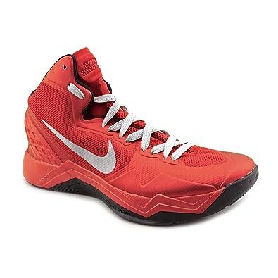45866b721e7cb NIKE Zoom Hyperdisruptor Mens Red Mesh Basketball Shoes Size 9.5 UK UK 9.5   Amazon.co.uk  Shoes   Bags