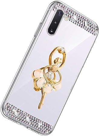 Herbests Compatible con Samsung Galaxy Note 10 Funda de ...