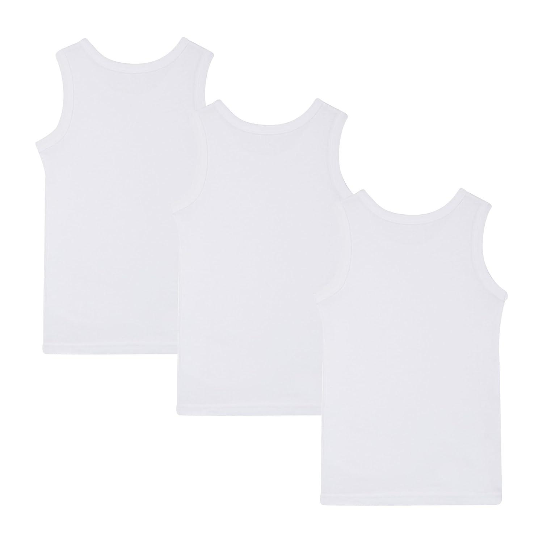 Debenhams Kids 3 Pack Boys White Vests