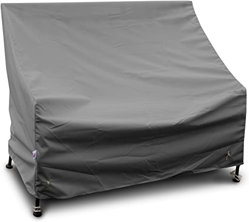 KoverRoos Weathermax 82450 3-Seat Glider Lounge Cover, 78-Inch Width by 38-Inch Diameter by 30-Inch Height, Charcoal