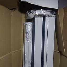 RL Mampara de Ducha 70x90 CM Rectangular de PVC Mod. Acquario con ...