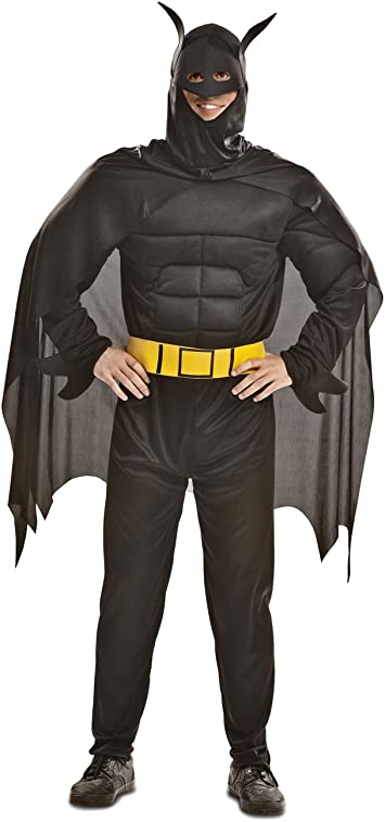 My Other Me Me - Disfraz de Blackman musculoso para adultos, talla ...