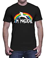 Mens I'm Magical Unicorn In Rainbow T-shirt
