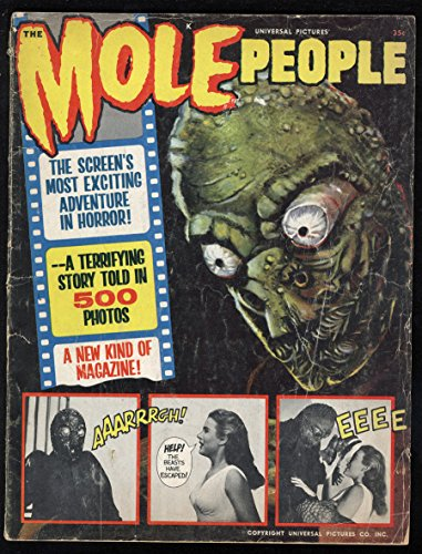 Mole People Movie Adaption Magazine Universal Pictures 500 Still Photos 2.5 Cr