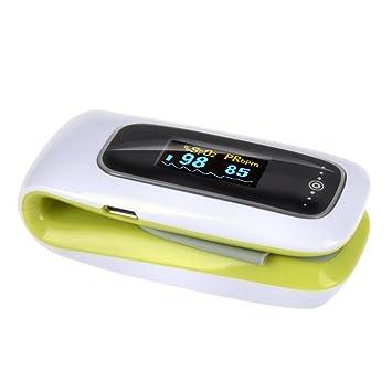 StarHealth F02T Tulip tobbs oxímetro de pulso recargable oximetría tensiómetro Monitor para niños