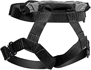 Fusion Tactical Duty Belt 23KN Griffin Military Police Half Body Search Rescue Harness, Black, Medium