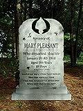 Halloween Prop Decoration Evil Soul Studios Mary Pleasant Tombstone Professional Haunter
