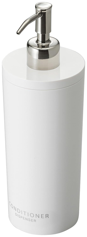 YAMAZAKI home Tower Classic Dispenser Conditioner White Yamazaki USA Inc 2930