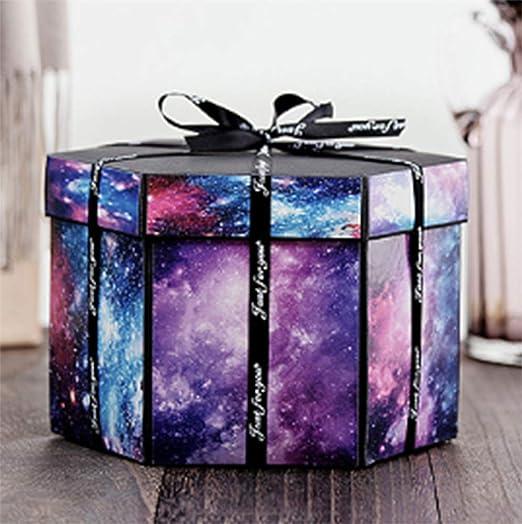 OOFAY Caja de explosión, Caja Sorpresa Creativa, Caja de Regalo Creativa, confesión Sorpresa de Bricolaje, Regalo romántico de Pareja de cumpleaños,A: Amazon.es: Hogar