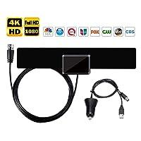 Deals on Musun Amplified Indoor HD TV Antenna 50-90 Miles Range