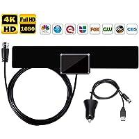 Musun Indoor Amplified HDTV Antenna (90 Mile Range)