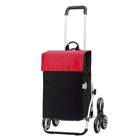 Andersen Carro de compra Royal con bolsa Hera roja, volumen 44L, marco aluminio y
