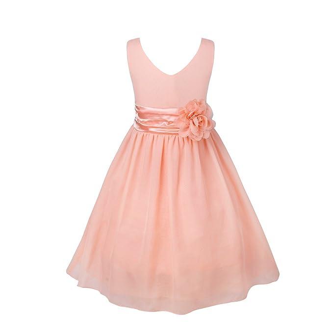Amazon.com: iEFiEL - Vestido corto de dama de honor para ...