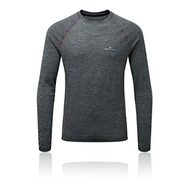 Ronhill Infinity Merino Manches Longues T-Shirt Collant - AW17 - XS ... 4ad07724e93