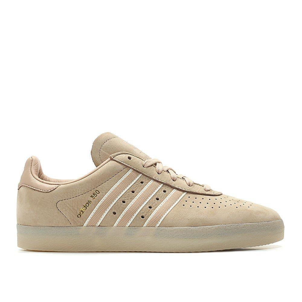 adidas Men Oyster Holdings 350 Pink Ash Pearl Chalk White Metallic Gold Size 13.0 US