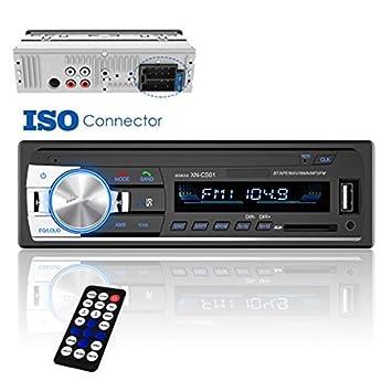 amazon com taitian car stereo receiver bluetooth, universal singletaitian car stereo receiver bluetooth, universal single din car radio remote control, dansrueus car