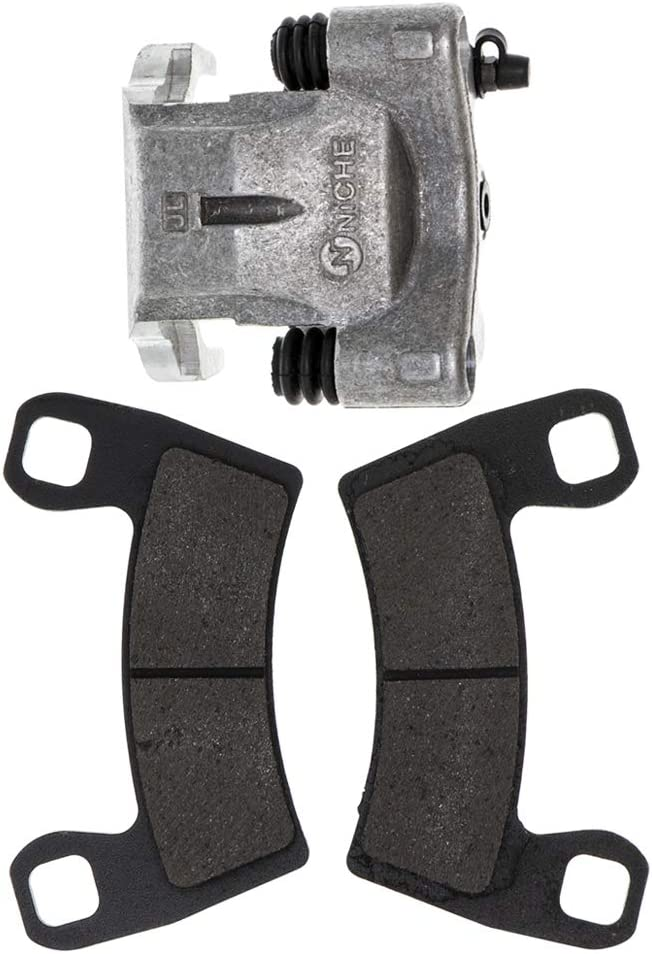 NICHE Front Right Brake Caliper and Pad Kit For 2015-2017 Polaris RZR S 900 1000 1912277