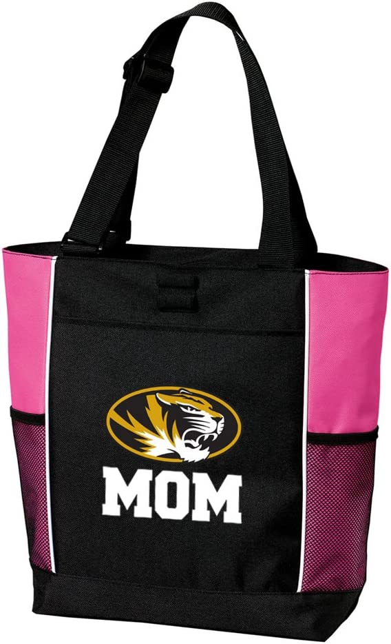 Mizzou Mom Tote Bag Ladies University of Missouri Mom Totes