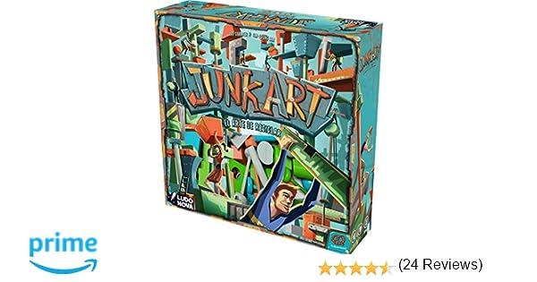 Ludonova- Junk Art - Juego de Mesa - Español (LDNV130001): Amazon ...
