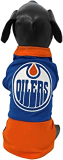 product image for All Star Dogs NHL Unisex NHL Edmonton Oilers Athletic Mesh Dog Jersey