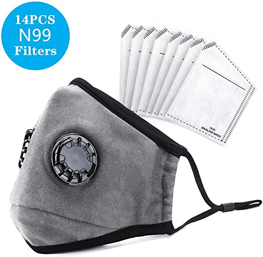 Reusable Mask Dust Washable For Pollen With Filters Analan Masks Air Smoke