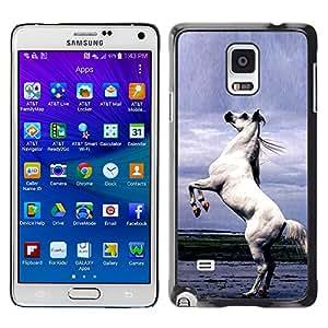 Graphic4You Arabian Stallion Horse Animal Design Thin Slim Rigid Hard Case Cover for Samsung Galaxy Note 4