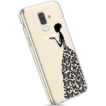YSIMEE Compatible con Fundas Samsung Galaxy J8 2018,Fundas ...