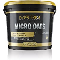 Matrix Nutrition Micro Oats Carbohydrate Powder 5kg - Low GI Carbohydrate Blend - Scottish Oats & Waxy Maize