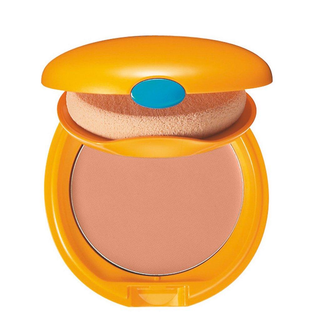 Shiseido Tanning Compact Foundation Fondotinta Solare Donna, 12 ml, Honey