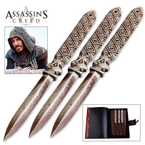 Assassin's Creed Aguilar's Throwing Knife Replica Set -  Master Cutlery, MC-AC-02