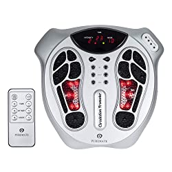 PureMate PM605 Electromagnetic Foot Circulation Massager & Body Therapy Machine