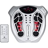 PureMate PM605 Electromagnetic Foot Circulation Massager & Body Therapy Machine, 99 kinds of electromagnetic wave intensity,15 Massage Modes, Remote Control, May help Improves Blood Circulation and Relieves Aches and Pains