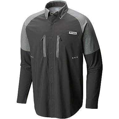 a0c6d29ae65 Columbia Mens Solar Shade Zero Woven Long Sleeve Shirt at Amazon Men's  Clothing store: