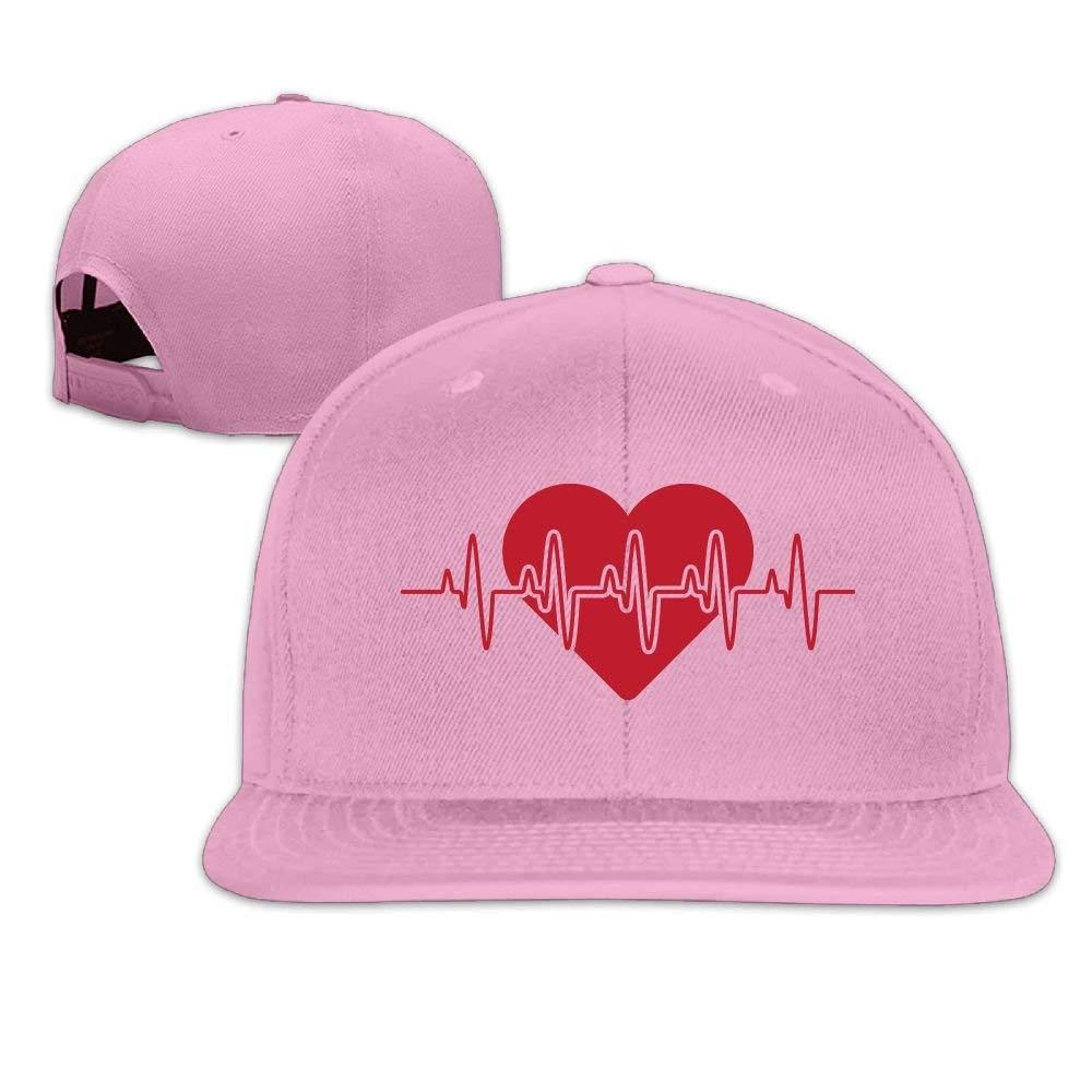 Vidmkeo Logotipo de Latido del corazón Unisex Algodón Snapback Hip ...
