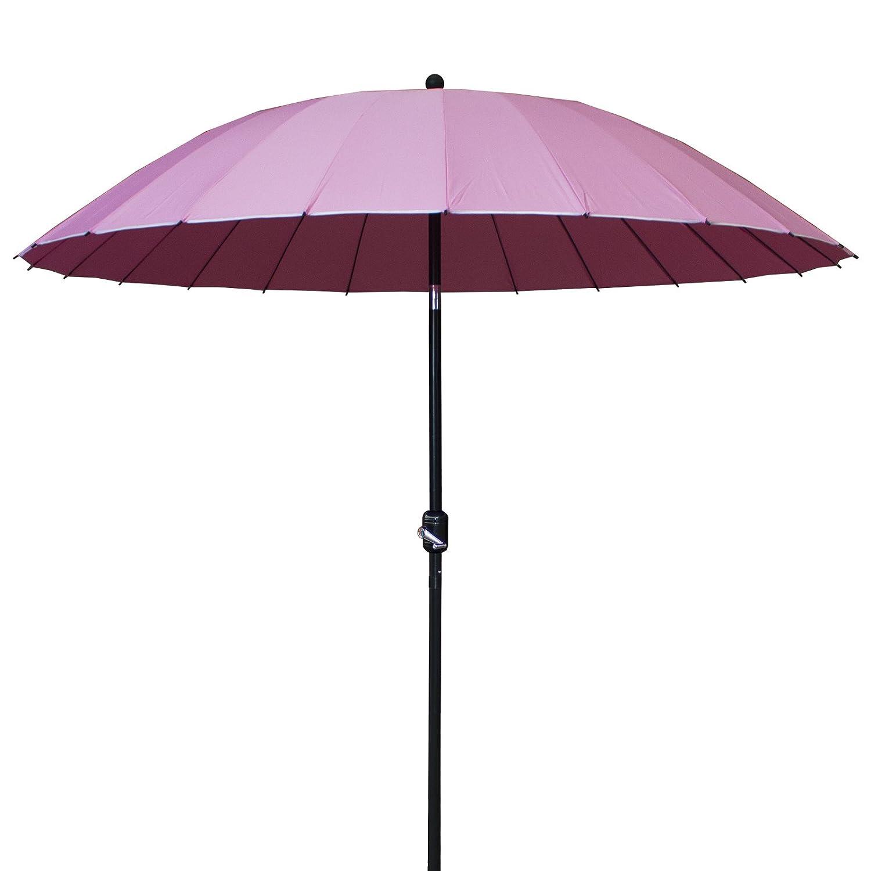 Patio Parasol 3X3m Garden Outdoor Umbrella Sun Shade Sunshade Canopy Pole